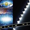 送料無料 72連LEDテープ120cm 側面発光LEDテープホワイト1本 両端配線 防水LEDテープ 切断可能なLEDテープ as233