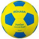 [Mikasa]ミカサスマイルサッカー 軽量3号球 ジュニア(SF3JYBL)(00)イエロー/ブルー