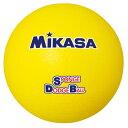 [Mikasa]ミカサスポンジドッジボール 重量約135g(STD18)(Y)イエロー