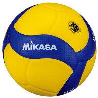 送料無料(※沖縄除く)[MIKASA]ミカサバレーボール検定球5号 国際公認球国際バレーボール連盟公式試合球(V200W)2019年新デザインの画像
