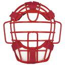 [ZETT]ゼット野球ソフトボール用マスク(SG基準対応)(BLM5153A)(6411)レッド/ホワイト