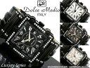 自動巻腕時計 自動巻き腕時計Dolce Medio ドルチェメディオメンズ 男性用 ジルコニアラグジュアリー DM8031オートマ 手巻き