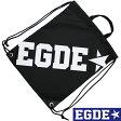 EGDE← ナップサック リュックサック Black