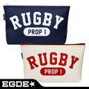 EGDE← RUGBY PROP 1 ラグビー レザー ポーチ
