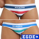 EGDE← MARINE STRIPED ボーダー スーパー...
