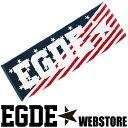 EGDE← AMERICAN FLAG スポーツタオル