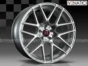 BMW 5シリーズ E60/E61 新品 ヴェナティッチ C-72M 19インチ FR ホイール SIL 1台分