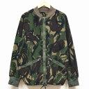 中古◆実物 イギリス軍 DPMカモ フリース素材 サーマル ライナージャケット♪ミリタリー 迷彩 軍物 アウター アウトドア