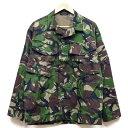 新品◆実物 イギリス軍 フィールドジャケット 2000年代 DPMカモフラージュ♪デッドストック ミリタリー デッドストック アウトドア 北欧 ユーロ 放出品 UK 英軍 迷彩