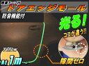 シリコン ドアモール (h型) 黄//【商品一覧】イエロー 蓄光タイプ 長さ1m(100cm)新型 汎用エッジガード 3M両面テープ貼付済サイドドアエッジ プロ...
