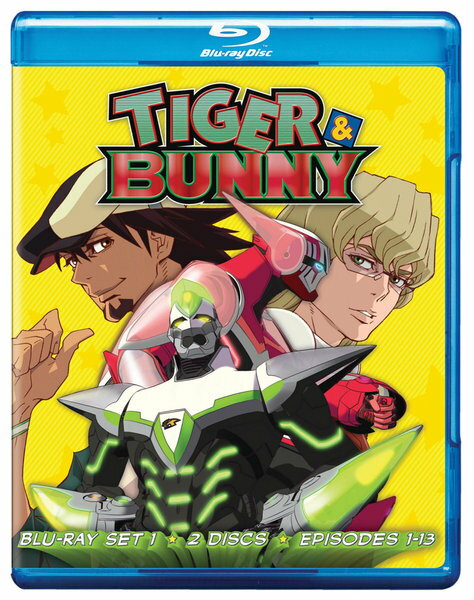TIGER & BUNNY 1 BD 01-13...の商品画像