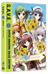 SHUFFLE! 第1期 WOWOW版 廉価版 DVD 全24話 600分収録 北米版