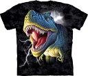 XL-3XLサイズ The Mountain Lightning Rex (メンズ 恐竜 ティラノサウルス メーカー直輸入品 Tシャツ)