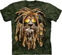 S-Lサイズ The Mountain Smokin Jahman (メンズ ライオン メーカー直輸入品 Tシャツ)
