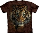 XL-3XLサイズ The Mountain Tiger Prowl (メンズ トラ メーカー直輸入品 Tシャツ)