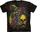 S-Lサイズ Dean Russo Rainbow Tiger メンズ Dean Russo トラ メーカー直輸入品 Tシャツ