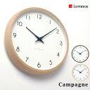 RoomClip商品情報 - Lemnos タカタレムノス Campagne/ カンパーニュ (PC10-24W)(掛け時計 壁掛け ウォールクロック) (送料無料)】 10倍