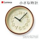 Lemnos タカタレムノス 壁掛け時計 WR11-05 小さな時計 置き時計 置き掛け兼用 [時計 壁掛け 掛け時計 ウォールクロック おしゃれ デザ..