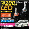 トヨタ エスクァイア[ESQUIRE 80系]専用4200ルーメン LED- HB3ハイビームランプ CREE社製LED/色温度:6500K 冷却ファン搭載 アルミヒートシンクケース