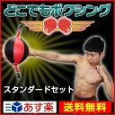 ボクシング サンドバッグ 「どこでもボクシング」スタンダード ボクシング ボクササイズ パンチング パンチングボール dvd 筋トレ 送料無料 グローブ スタンディング ホームジム ボクシングセット