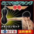 ボクシング サンドバッグ 【どこでもボクシング メキシカン】 ボクササイズ パンチング パンチングボール 筋トレ グローブ サンドバッグ サンドバッグ スタンディング サンドバック ホームジム ボクシングセット dvd 05P01Oct16 05P28Sep16