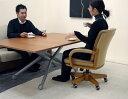 リビングテーブルが急な来客にも高さ無段階でこたつ・座卓と一緒に合わせて使える♪イタリア製昇降伸張テーブル!
