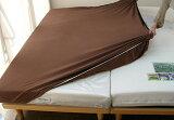 在厚床垫无用被套,两倍,两倍宽,女皇,美式大床用,长度2m2到0cm为止的长尺寸床用,40cm的垫子上(里)也能使用的纵横伸缩床单!【愉快[【快眠寝具/サイズフリー伸び縮みするBOXシーツ/LF】ダブル、ワイドダブル、ク