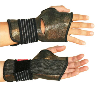 "YOROI POWER WRIST GUARD ""TITAN"" yoroi list guard titanium list bar built-in wrist protector"