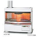 トヨトミ HR-650F(W) ホワイト 煙突式ストーブ 畳数めやすコンクリート27畳/木造17畳 操作部は、使いやすく便利なコアラポケット リビルト品