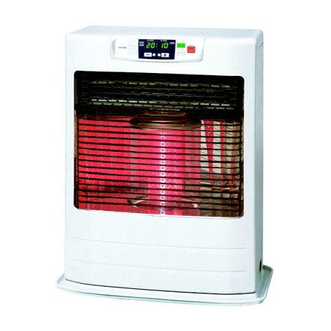 トヨトミ 赤外線と温風のダブル暖房 FF式石油ストーブ FR-V5501 ホワイト (木造〜15畳/コンクリート〜23畳) リビルト品