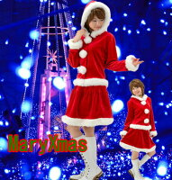 サンタクロース衣装/サンタ衣装/大きいサイズサンタコスプレ/大きいサイズXLXXLサンタクロース/クリスマス衣装/フード付き上下セット/5