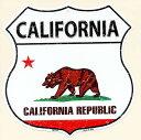 カリフォルニア州★CALIFORNIA・標識型・州旗柄★アメリカンブリキ看板★アメリカ ブリキ看板 アメリカン雑貨 アメリカ雑貨 メタルプレート 看板 おしゃれ...