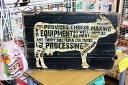 牛さん★COW・レトロ調・木製看板・木製プレート★木製ボード アメリカン雑貨 アメリカ雑貨 アメリカ カントリー 雑貨 おしゃれ カフェ…