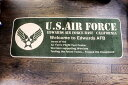 U.S.AIR FORCE★ロングマット・カリフォルニア州・エドワーズ空軍基地・約120×45センチ★キッチンマットサイズ★ミリタリー柄 アメリ…