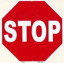 STOP★ストップ・アメリカの道路標識のデザイン★アメリカンブリキ看板★アメリカ ブリキ看板 アメリカン雑貨 アメリカ雑貨 交通標識 トラフィックサイン サイン...