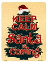 クリスマスツリー柄 Santa is coming クリスマ...