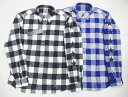 uniform experiment NUMBERING STAR FLANNEL CHECK B.D SHIRT
