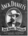 1622Jack Daniel's Portraitジャックダニエル ポートレイトアメリカン雑貨 ブリキ看板Tin Sign ティンサイン3枚以上で送料無料!