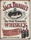 RoomClip商品情報 - 1665Jack Daniel's Sippin Whiskeyジャックダニエル テネシーウイスキーアメリカン雑貨 ブリキ看板Tin Sign ティンサイン3枚以上で送料無料!