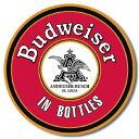 1157Bud In Bottlesバドワイザー ボトル ロゴアメリカン雑貨 ブリキ看板Tin Sign ティンサイン3枚以上で送料無料!