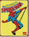 1437Marvel SpiderMan Retroマーベル アメージング スパイダーマンアメリカン雑貨 ブリキ看板Tin Sign ティンサイン3枚以上で送料…