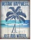 2039Instant Happinessインスタント ハピネスアメリカン雑貨 ブリキ看板Tin Sign ティンサイン3枚以上で送料無料!