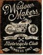 2076Widow Maker's Cycle Clubアメリカン雑貨 ブリキ看板Tin Sign ティンサイン3枚以上で送料無料!