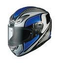 【送料無料】【ポイント10倍】【ヘルメット】OGK AEROBLADE-3 MAVERICK ホワイトブルー 白青 WHITE BLUE XLサイズ エアロブレード マーヴェリック オージーケー カブト フルフェイス