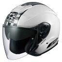 【ヘルメット】 OGK ASAGI SPEED ホワイト WHITE 白 XLサイズ オープンフェイス オージーケー アサギ スピード
