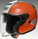 【送料無料】【ポイント10倍】【ヘルメット】 SHOEI J-Cruise CORSO TC-8 オレンジ/ホワイト 59cm (Lサイズ) オープンフェイス ショウエイ ジェイ-クルーズ コルソ