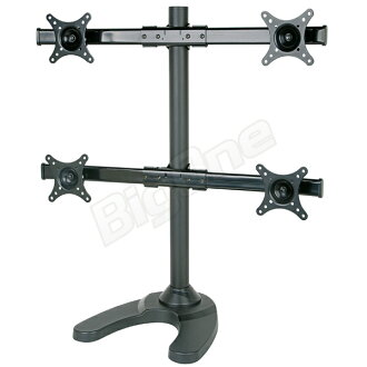 高剛性液晶顯示器站 4 顯示器滑動柔性模型 13 27 英寸的位置調整免費通用顯示器支架監視器臂 4