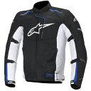【ジャケット】【alpinestars】 ROMA AIR WP JACKET ブラック/ブルー/ホワイト BLACK/BLUE/WHITE 黒/青/白 2XLサイズ アルパインスターズ