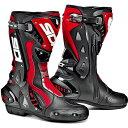 【送料無料】【ポイント10倍】【シューズ】【SIDI】 RACING ST BOOT ブラック/レッド BK/RED 42 (26.5cm) シディ エスティー レーシング ブーツ 靴 シューズ