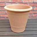【何個買っても送料550円(北海道:700円、離島は除く)】〜 落ち着いた感のあるホワイトの植木鉢です〜